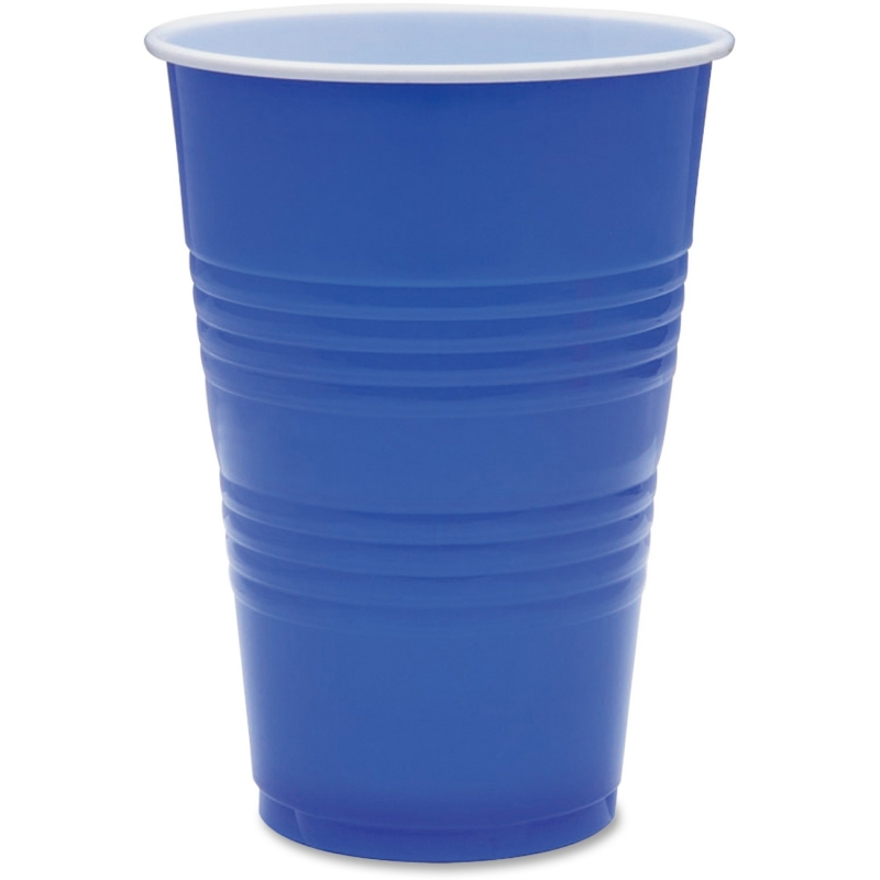 Genuine Joe 16 oz Plastic Party Cups 11250CT GJO11250CT