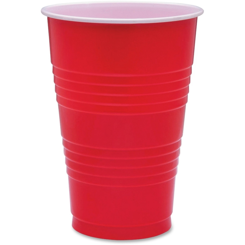 Genuine Joe 16 oz Plastic Party Cups 11251CT GJO11251CT