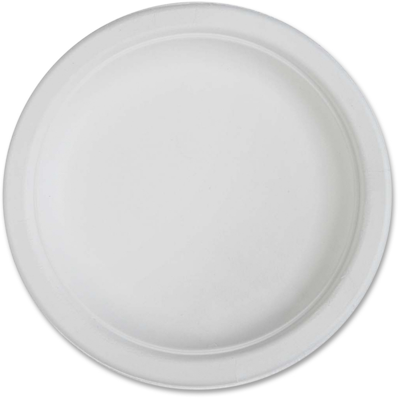 Genuine Joe Compostable Plates 10216CT GJO10216CT