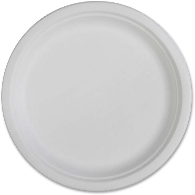 Genuine Joe Compostable Plates 10218CT GJO10218CT