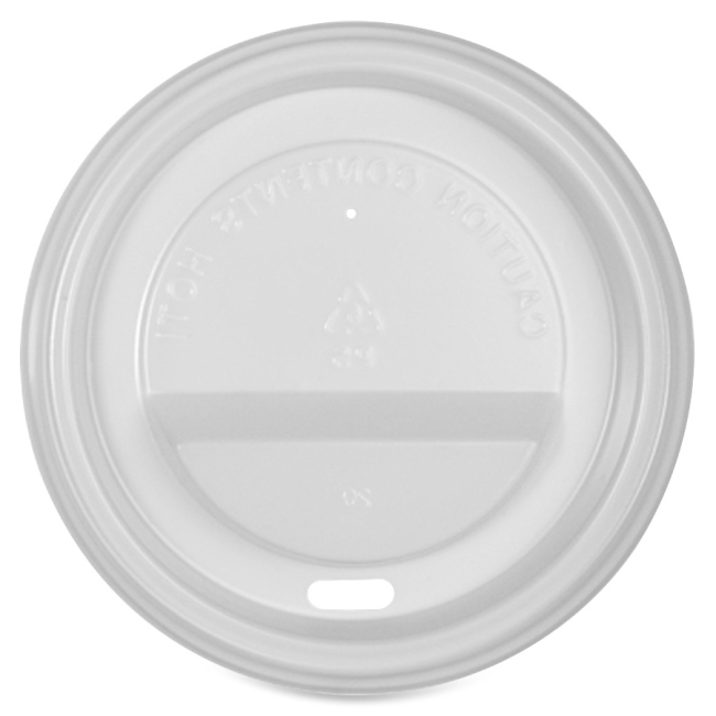 Genuine Joe Vented Hot Cup Lid 10212CT GJO10212CT