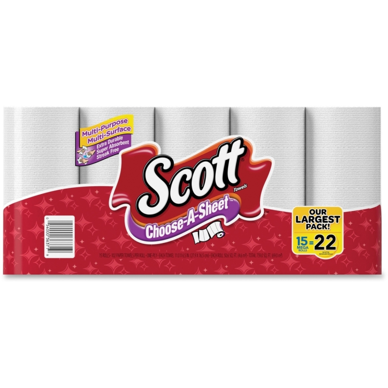 Scott Choose-A-Sheet Paper Towels 36371 KCC36371