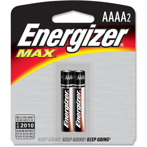 Energizer Max AAAA Batteries E96BP2CT EVEE96BP2CT