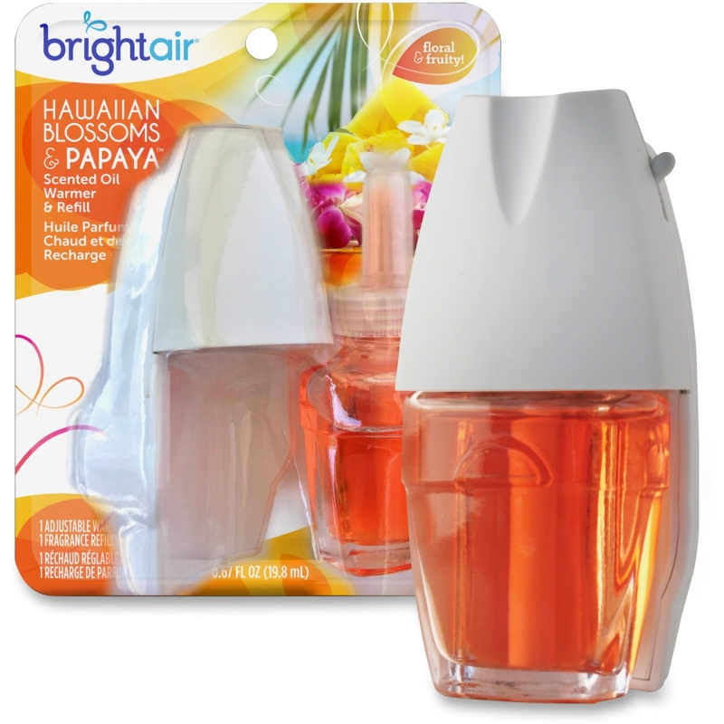 Bright Air Hawaiian Scented Oil Warmer Combo 900254CT BRI900254CT