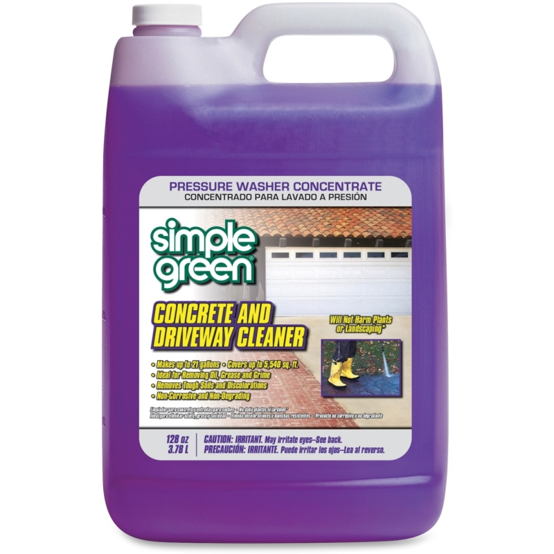 Simple Green Concrete/Driveway Cleaner Concentrate 18202CT SMP18202CT