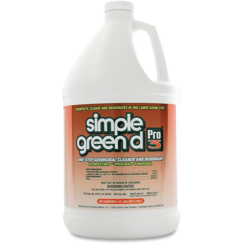Simple Green 1-Step Germicidal Cleaner/Deodorant 30301CT SMP30301CT