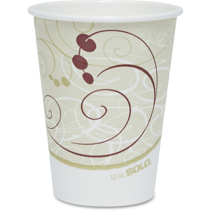 Solo Single-sided Poly Hot Cups 412SMJ8000CT SCC412SMJ8000CT
