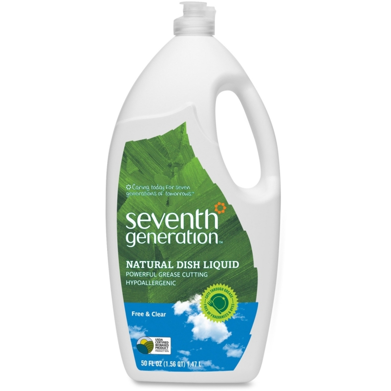 Seventh Generation Free/Clear Natural Dish Liquid 22724CT SEV22724CT