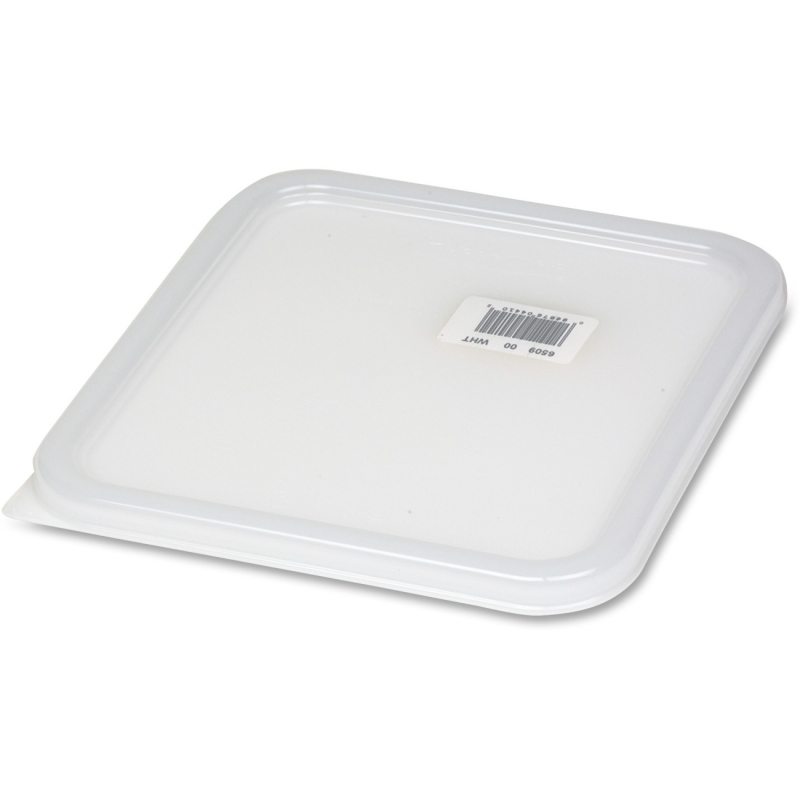 Rubbermaid Commercial 2qt-8qt Square Food Container Lid 650900WHCT RCP650900WHCT