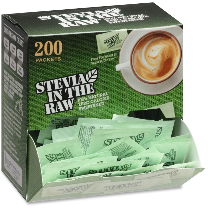 IN THE RAW Folgers Stevia Zero-calorie Sweetener 76014 FOL76014