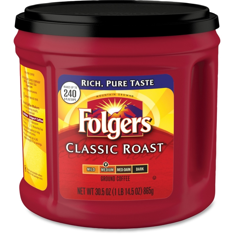 Folgers Canister Classic Roast Coffee 20421 FOL20421