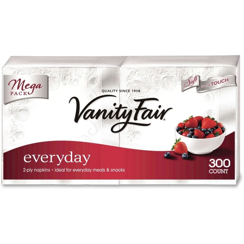 Vanity Fair Everyday Napkins 3550314CT GPC3550314CT