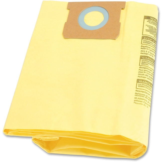 Shop-Vac 5-8 gal High-eff Collection Filter Bags 9067100CT SHO9067100CT
