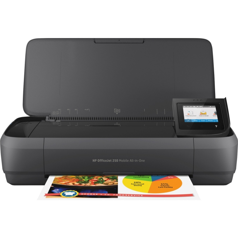 HP OfficeJet Mobile All-in-One Printer CZ992A HEWCZ992A 250