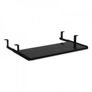 Alera Valencia Series Underdesk Keyboard/Mouse Shelf, 28w x 12d, Black ALEVA312812BK