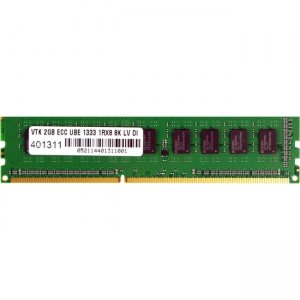 Visiontek 1 x2GB PC3-10600 DDR3 ECC UBE 8K 1333MHz Low Voltage UDIMM Memory Module 900709