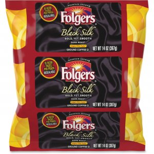 Folgers Black Silk Ground Coffee Filter Packs 00016