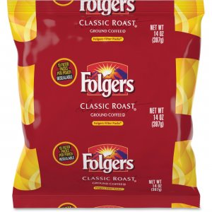 Folgers Classic Roast Ground Coffee Filter Packs 10117