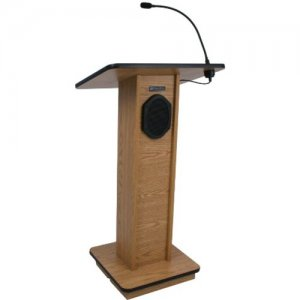 AmpliVox Sound System Elite Lectern S355-MH s355