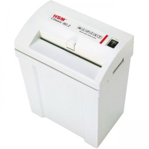 HSM Classic - Cross-cut Shredder; Shreds up to 5 Sheets; 4.5-Gallon Capacity HSM1082 80.2