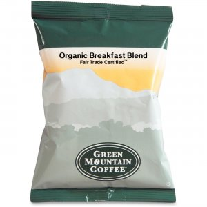 Green Mountain Coffee Fair Trade Organic Breakfast Blend Coffee T4426 GMT4426