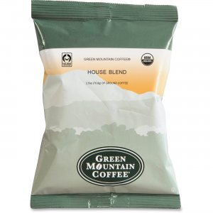 Green Mountain Coffee Fair Trade Organic House Blend T4493 GMT4493