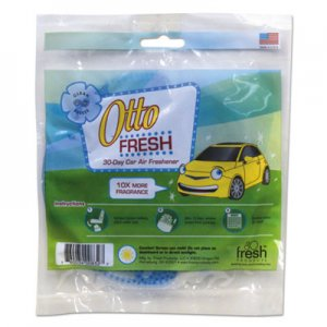 Fresh Products Otto Fresh Air Freshener Screen, Clean Breeze, 12/Box FRSOTTOCLBR OTTO-F-012I072M-16