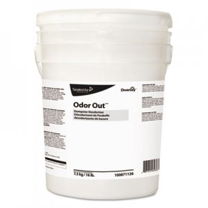 Diversey Odor Out Odor Counteractant Pellets, Fresh Floral, Pink, 16 lb Pail DVO100871126 100871126