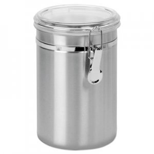 Office Settings Stainless Steel Canisters, 63 oz OSISSC0631 SSC0631