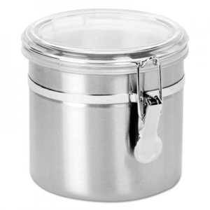 Office Settings Stainless Steel Canisters, 38 oz OSISSC0381 SSC0381