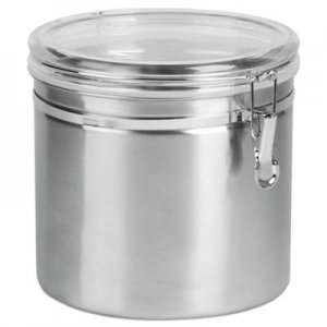 Office Settings Stainless Steel Canisters, 165 oz OSISSC0165 SSC0165