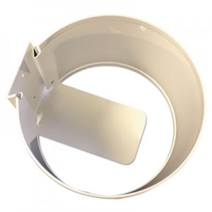 Nature's Air Wall Mount Holder, White, Metal, 6 x 6 x 4 DEL1012U12EA 101-2U EACH