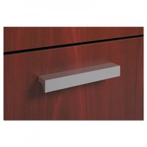 HON BL Series Field Installed Contemporary Pull, 4 3/4 x 3/4 x 3/4, Silver, 2/Pack BSXBLPCONTEMP