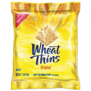 Nabisco Wheat Thins Crackers, Original, 1.75 oz Bag, 72/Carton CDB00798 00 19320 00798 00