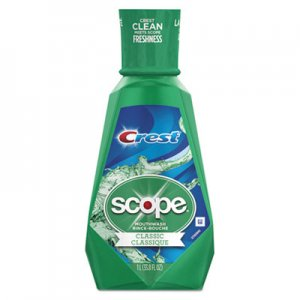 Crest + Scope Mouth Rinse, Classic Mint, 1 L Bottle PGC95662EA 95662EA