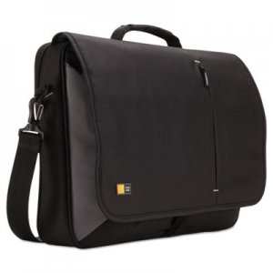 "Case Logic 17"" Laptop Messenger, 3 3/8 x 17 3/4 x 13 3/4, Black CLG3201140 3201140"