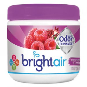 Bright Air Super Odor Eliminator, Wild Raspberry & Pomegranate, 14 oz Jar BRI900286EA 900286EA