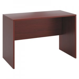 HON 10500 Series Standing Height Desk Shell, 60w x 30d x 42h, Mahogany HON105397NN H105397.NN