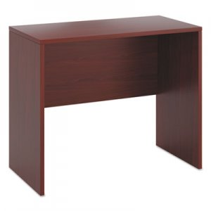 HON 10500 Series Standing Height Desk Shell, 48w x 24d x 42h, Mahogany HON105392NN H105392.NN