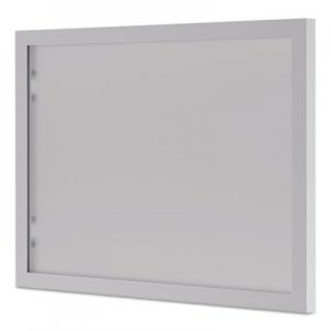basyx BL Series Hutch Doors, Glass, 13 1/4 x 17 3/8, Silver/Frosted BSXBL72HDG