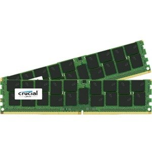 Crucial 64GB kit (32GBx2) DDR4 PC4-17000 Load Reduced ECC 1.2V CT2K32G4LFQ4213
