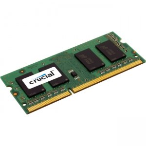 Crucial 8GB, 204-pin SODIMM, DDR3 PC3-12800 Memory Module CT102472BF160B