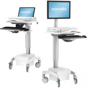 Enovate Medical Computer Cart J-GENU-AXM