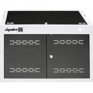 "Anywhere Cart 12 Bay Secure Charging Cabinet Chromebooks, iPads, Tablets & Laptops - 9"" to 15"" ACMINI AC-MINI"