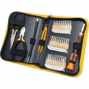 SYBA Multimedia 35 Piece Multi-purpose Precision Screwdriver Set in a Handsomely Organized Case SY-ACC65048