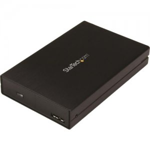"StarTech.com Drive Enclosure for 2.5"" SATA SSDs/HDDs - USB 3.1 (10Gbps) - USB-A, USB-C S251BU31315"