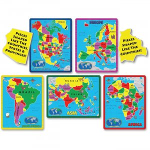 A Broader View Continent Puzzle Combo Pack 659 ABW659