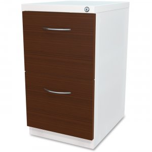 Lorell File/File Laminate Wood Mobile Pedestal 34422 LLR34422