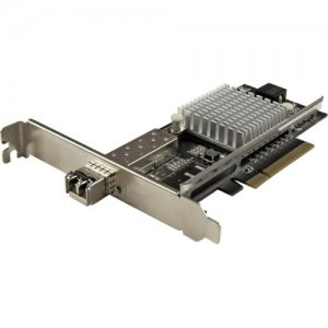 StarTech.com 1-Port 10G SFP+ Fiber Optic Network Card - PCIe - Intel Chip - MM PEX10000SRI