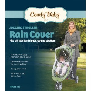 babyroues Comfy Baby Universal Single Jogging Stroller Raincover 910